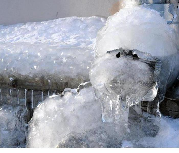 Frozen Pipe During Winter Weather