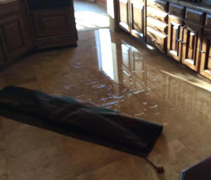 Water Loss in Kitchen